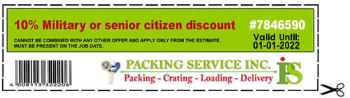 Packing Service Inc - Coupon#7846590