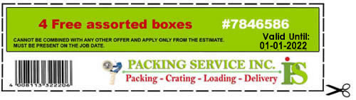 Packing Service Inc - Coupon#7846586