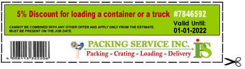 Packing Service Inc - Coupon#7846592
