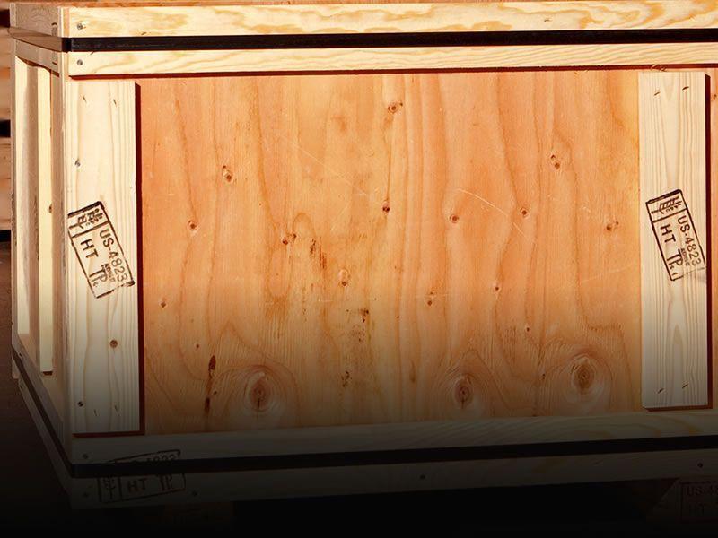 Таможенные деревянные ящики