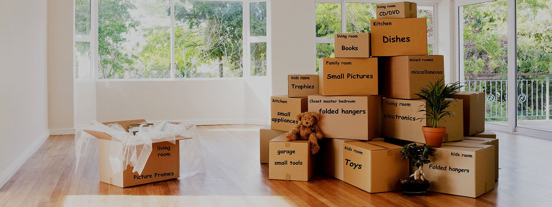 Professional Packing Boxes