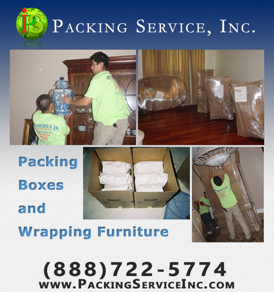... Be Handled By Professional Craters; Packing Service, Inc. Has The Most  Professional Packers In The Business To Handle Any Size Packing And Loading  Job.