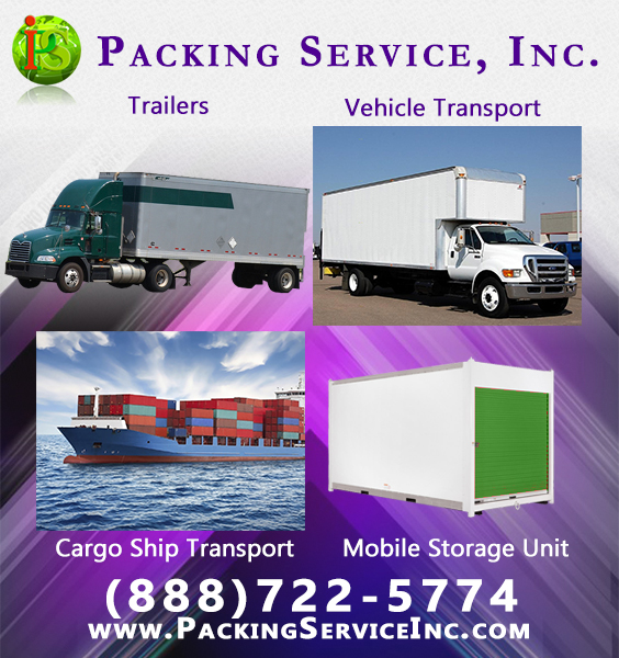 Are You Purchasing New Furniture, Shipping Machines Or Equipment? Let  Packing Service, Inc. Pickup Your New Items Directly From The Warehouse And  Ship Them ...
